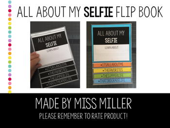 Selfie Back to School Flip book