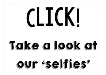 Selfie sign