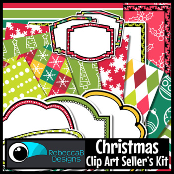Clip Art Kit Christmas