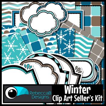 Clip Art Kit Winter