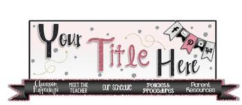 """Semi-Custom Teacher Blog:  """"The Aimee"""""""