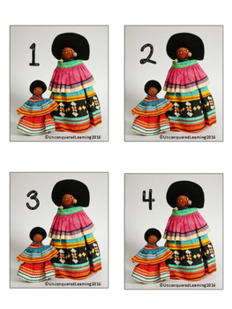 Seminole Indian Doll Classroom Numbers