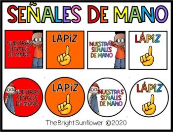 Señales de Mano / Hand Signals in Spanish