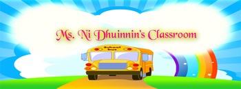 Senior Infants Gaeilge  Lesson plans on the 'An Scoil' theme