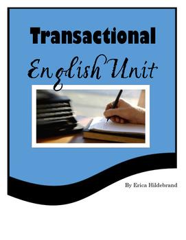 Senior Years Transactional English Unit