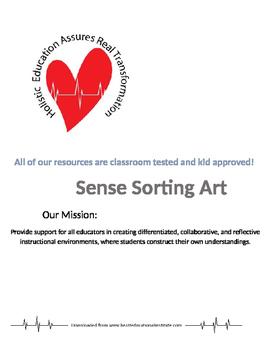 Sense Sorting Art