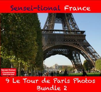 Sensei-tional France: 9 Le Tour de Paris Photos Bundle 2