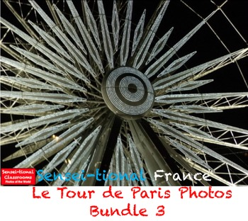 Sensei-tional France: 9 Le Tour de Paris Photos Bundle 3