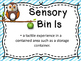Sensory Bins In The Classroom