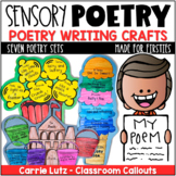 Sensory Poetry  Activities and Craftivities A Fun Poetry Unit