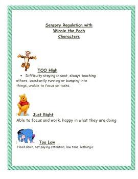 Sensory Tips for Tigger, too!