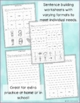 Sentence Builders and WH Questions- Summer! Language Arts,