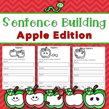 Sentence Building Apple Edition