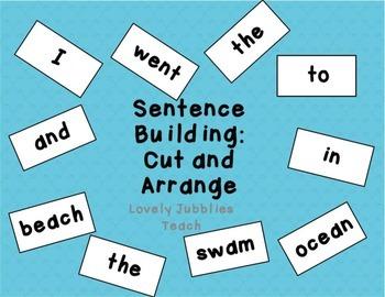 Sentence Building: Cut and Arrange