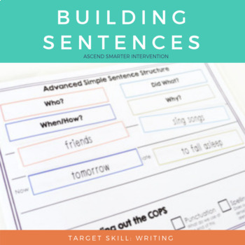 Sentence Building & Editing - Simple Structure
