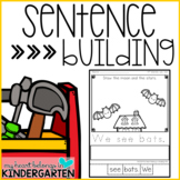 Sentence Building Sight Word Printables