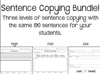 Sentence Bundle