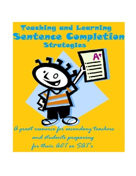 Sentence Completion Strategies -Improve Standardized Test