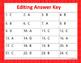 Sentence Editing Task Cards Set 1