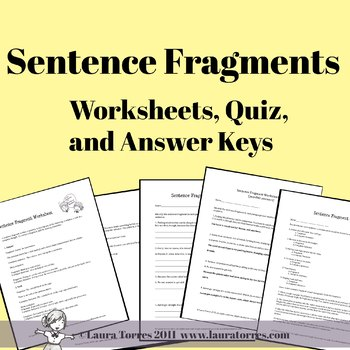 sentence fragment worksheets with answers free worksheets library download and print. Black Bedroom Furniture Sets. Home Design Ideas