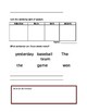 Sentence Jumble and Grammar Sort