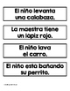 Sentence Matching Center in Spanish (Centros de emparejar