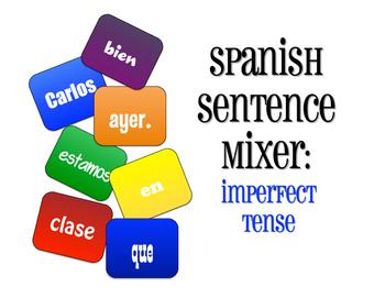 Spanish Imperfect Sentence Mixer