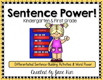 Sentence Power: Differentiated Sentence-Building Activitie