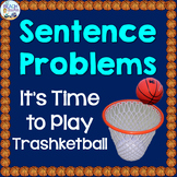 Sentence Problems Trashketball Game