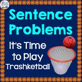 Sentence Problems Trashketball Game