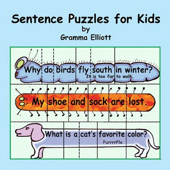 Sentence Puzzles for Learning Punctuation and Sight Words