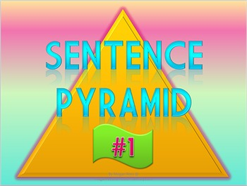 Sentence Pyramid Keyboarding Game - Video Version