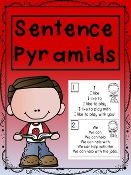 Sentence Pyramids