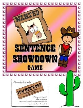 Sentence Showdown Game (Declarative, Interrogative, Impera