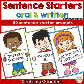 Sentence Starters - 50 prompts -