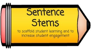Sentence Stems for Student Success