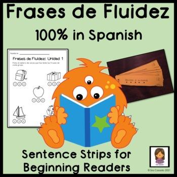 Sentence Strips: Practice Reading Fluency (Spanish: Frases