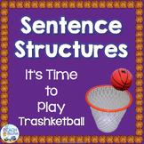 Sentence Structures Trashketball Game
