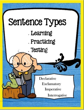 Sentence Types: Learning, Practicing, Testing