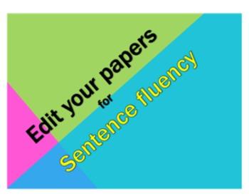 Sentence Variety Bundle- Varying Sentence Length and Sente