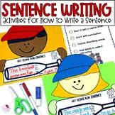 Sentence Writing From Start to Finish Home Run Sentence Writing
