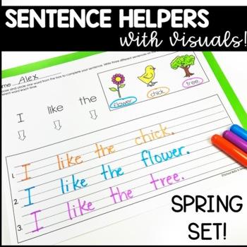 Sentence Writing / Spring