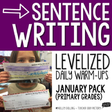 Sentence Writing Warm-Ups (January)