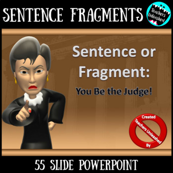 Sentence Fragment PowerPoint Lesson