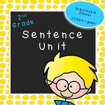 Second Grade Sentence Unit