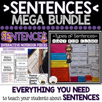 Sentences Activity Bundle