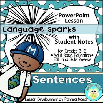 Sentences PowerPoint and Student Notes Newly Revised