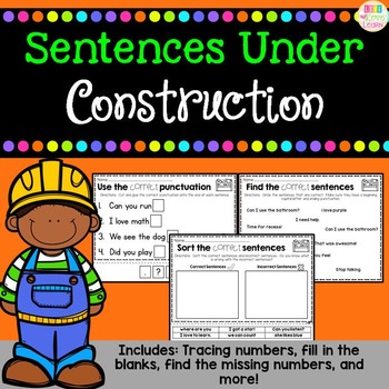 Sentences Under Construction