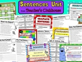 Sentences Unit from Teacher's Clubhouse