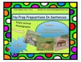 Sentences to Teach Prepositions